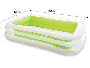 Надувной бассейн Intex 56483 Family Зеленый (56483), фото 2