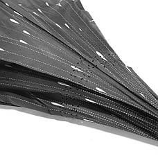 Зонт навпаки Up-Brella Метеоритний дощ Чорний з білим (2907-13280), фото 2