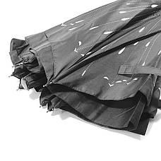 Зонт навпаки Up-Brella Метеоритний дощ Чорний з білим (2907-13280), фото 3