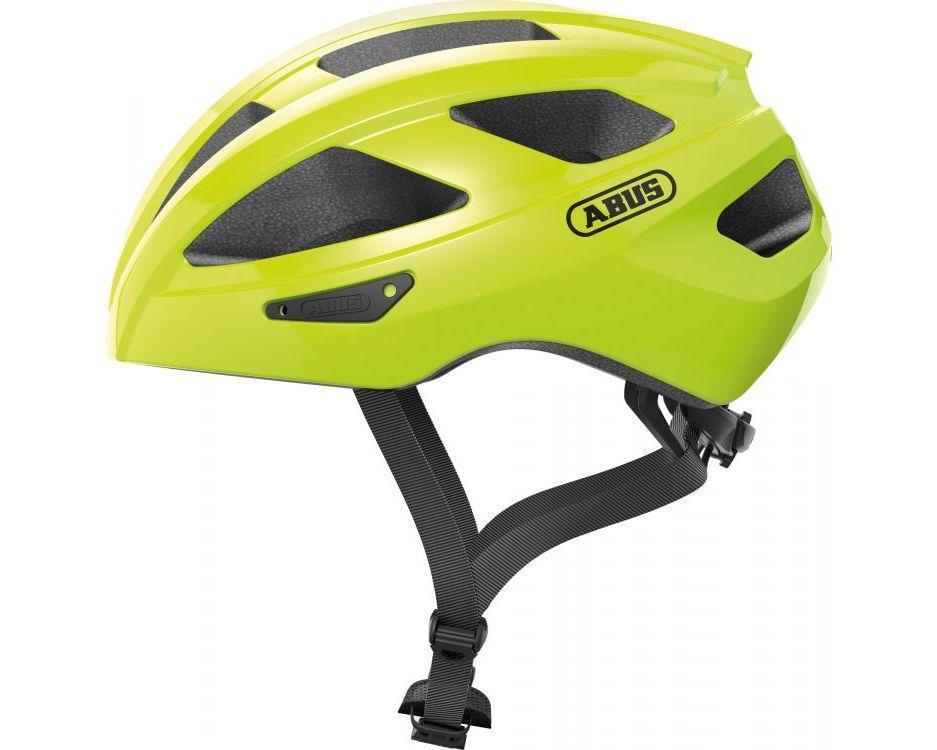 Шолом велосипедний ABUS MACATOR M 52-58 Signal Yellow (872303)