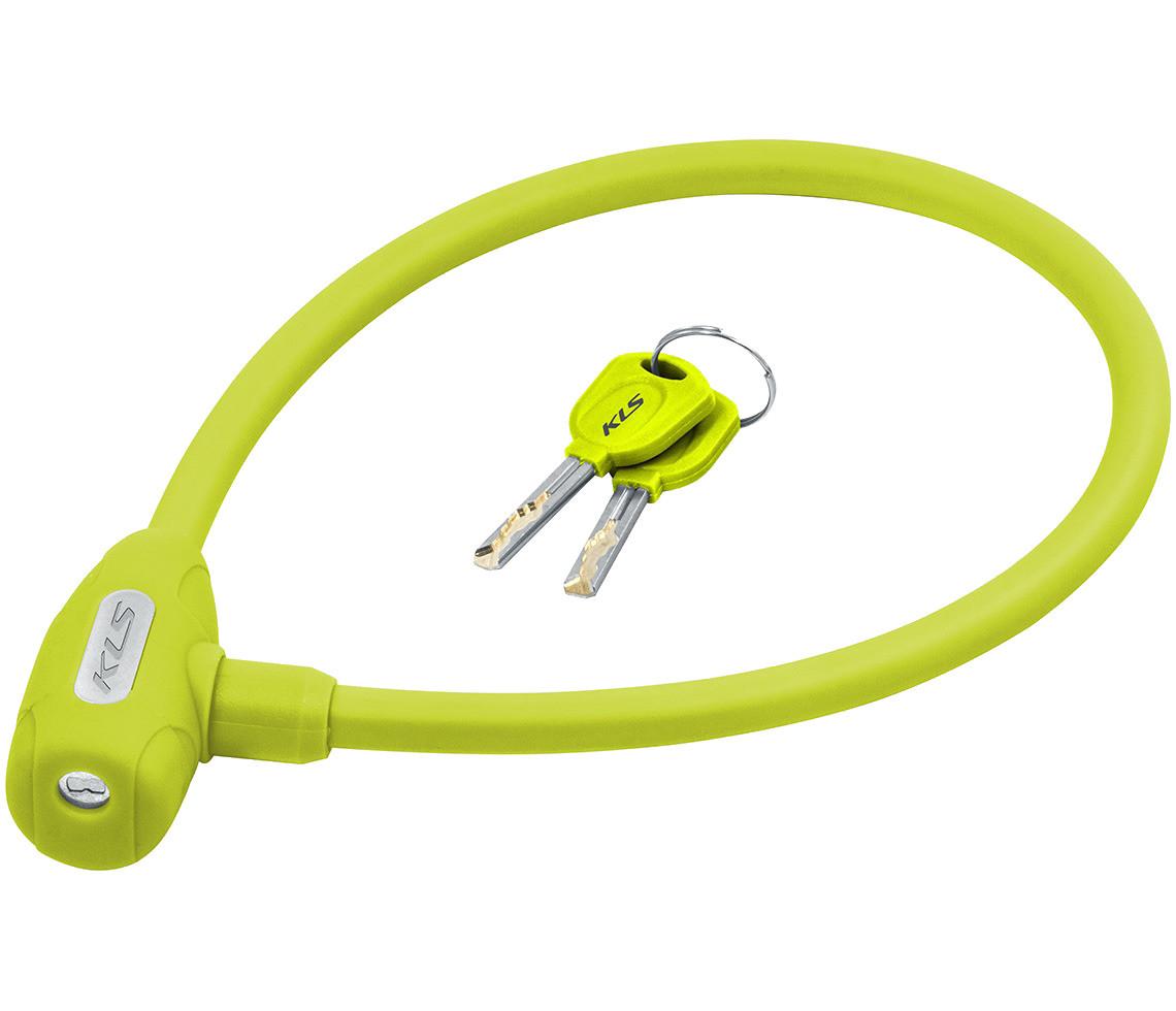 Велозамок KLS Jolly 12x650 мм Green