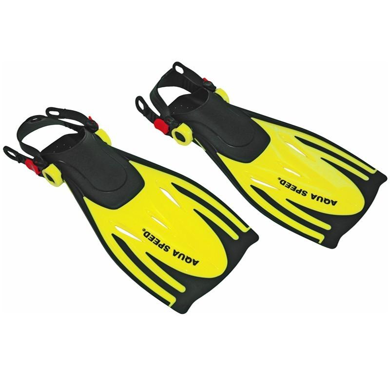 Ласти для плавання Aqua Speed Wombat Kid 27-31 Жовті (aqs013)