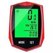 Проводной велосипедный компьютер Feel Fit MB-001 Красный