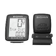 Велокомп'ютер бездротовий Sigma Sport BC 9.16 ATS Black (SD09162)