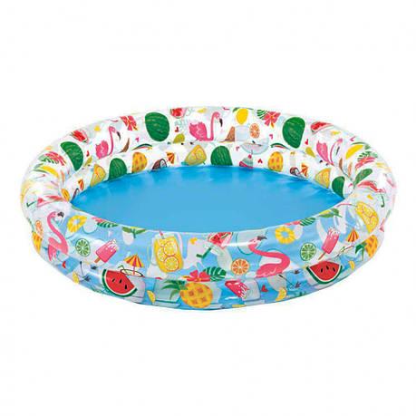 Дитячий надувний басейн Intex 59421 Різнобарвний, фото 2