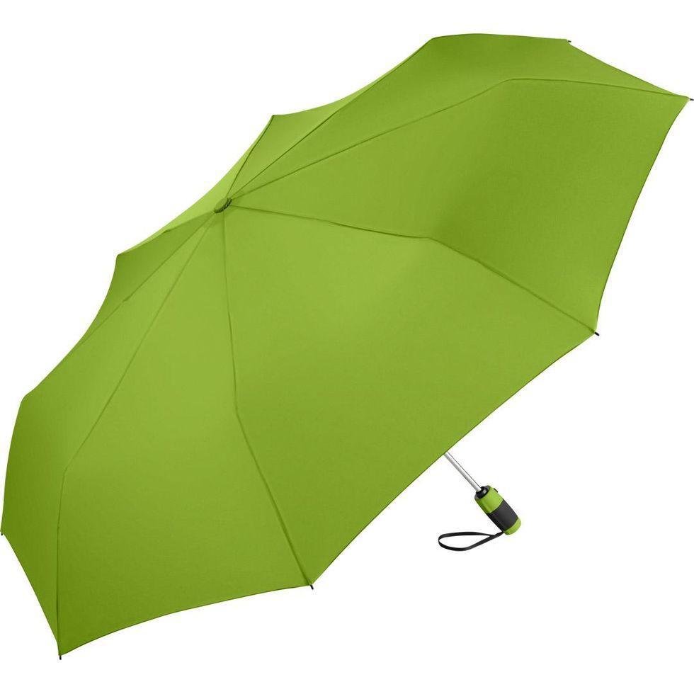 Зонт складной Fare 5601 с большим куполом Лайм (308)