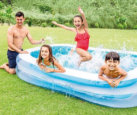 Дитячий надувний басейн Intex 56483 Блакитний, фото 2