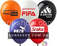 Воздушные шары Спортивные шары цветные 1ст (100 штук)