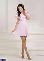 Стильное платье а-силуэта с дорогим кружевом  р-ры 42-48 арт. 7869