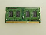 SODIMM DDR3 PC3 1GB оперативна пам'ять Kingston PC3-10600S 1GB для ноутбука. бо, фото 2