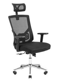 Крісло офісне Роджер хрестовина Хром  Richman