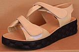 Босоніжки шкіряні від виробника модель ДР2101, фото 3
