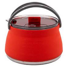Чайник складаний, туристичний Tramp TRC-125 (1л), помаранчевий