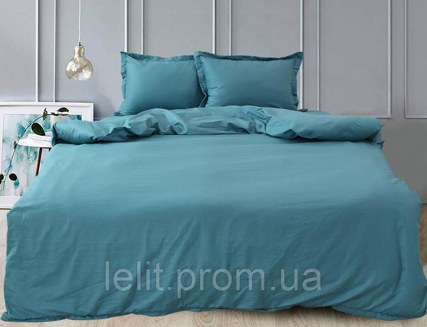 Семейный комплект постельного белья Blue Sea Wave