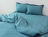 Семейный комплект постельного белья Blue Sea Wave, фото 2
