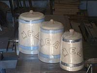 Липовые кадки для меда, фото 1