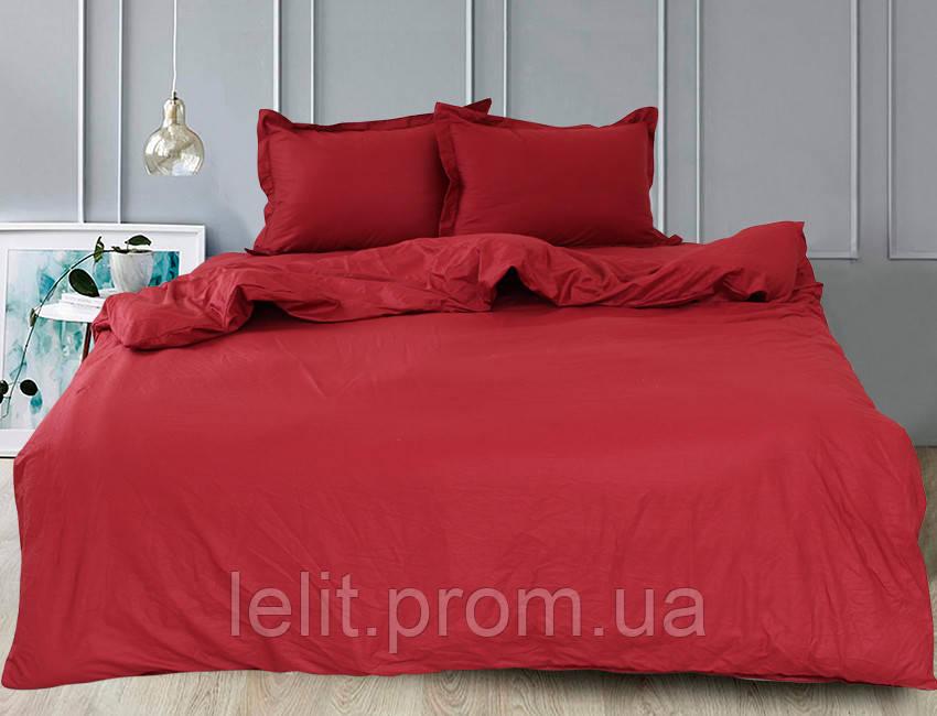 Двоспальний комплект постільної білизни Bordo