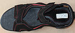 Босоніжки шкіряні на липучці великого розміру від виробника модель ББ2101, фото 3