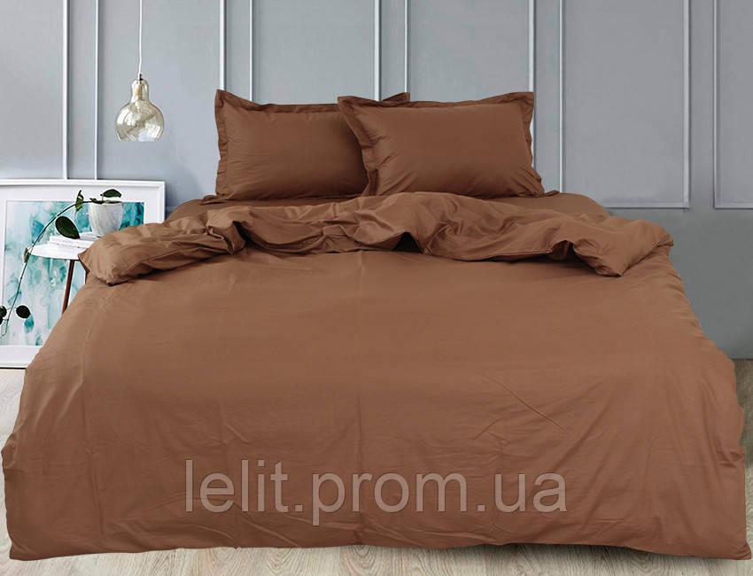 Евро комплект постельного белья Chocolate