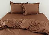 Евро комплект постельного белья Chocolate, фото 2