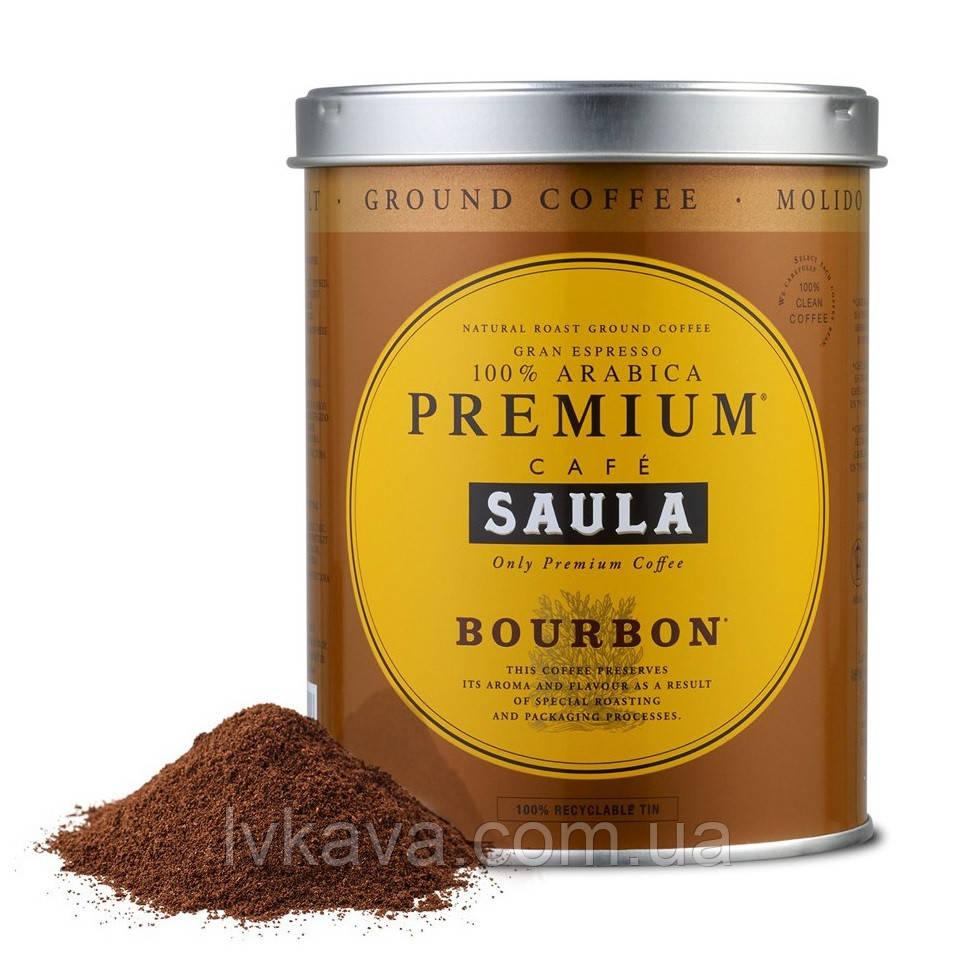 Кава мелена SAULA Gran Espresso PREMIUM BOURBON , 250 гр, з\б