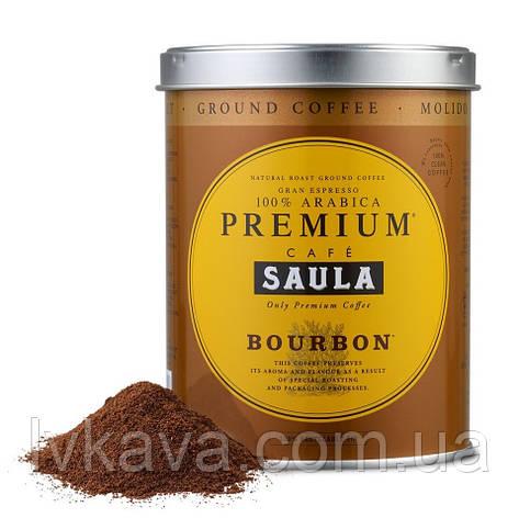 Кава мелена SAULA Gran Espresso PREMIUM BOURBON , 250 гр, з\б, фото 2