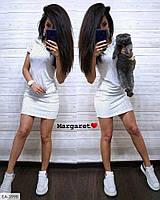 Прогулочное платье  с капюшоном и карманами р-ры 42-46 арт. 4002
