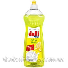 Гель для мытья посуды с ароматом лимона Dalli Citrus Fresh Spulmittel 1000 мл