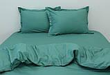 Евро комплект постельного белья Green, фото 2