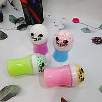 Слайм цветной с шариками