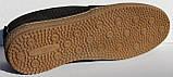 Чоловічі сильні чорні туфлі нубук від виробника модель ТР2101, фото 7