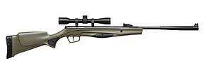 Пневматическая винтовка Stoeger RX20 Synthetic Stock Green Combo с прицелом 4х32