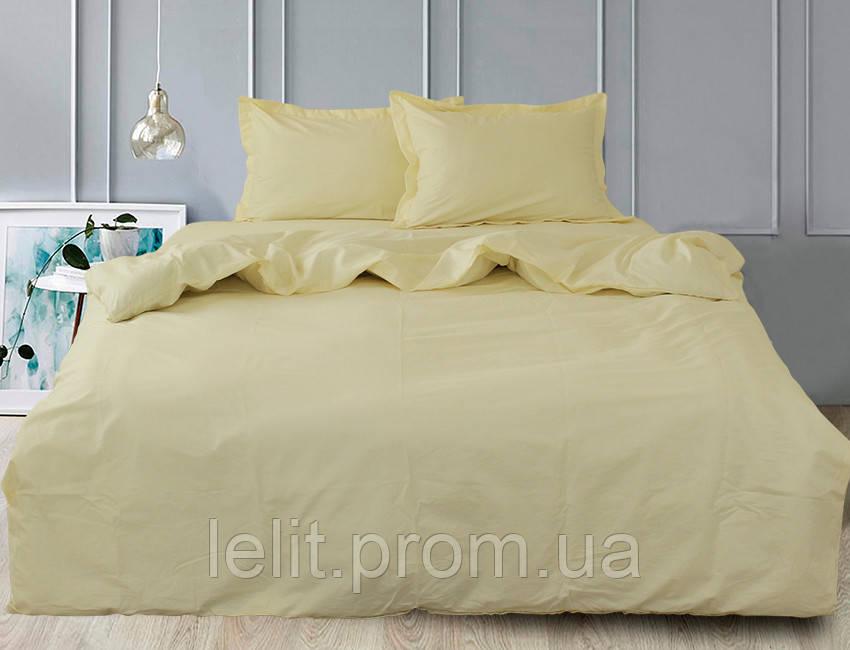 Евро комплект постельного белья Ivory