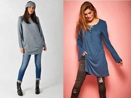 Туника — женская одежда, которая не утратит популярность