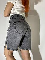 Женские джинсовые шорты-трубы Турция