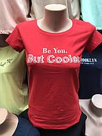 """Женская футболка норма """"But cooler"""" - ОПТОМ!"""