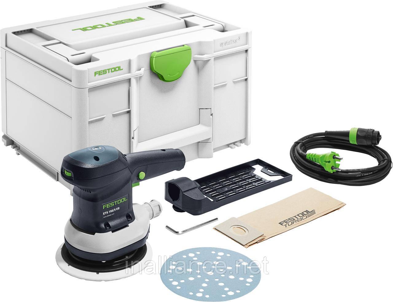 Эксцентриковая шлифовальная машинка ETS 150/5 EQ-Plus Festool 576080