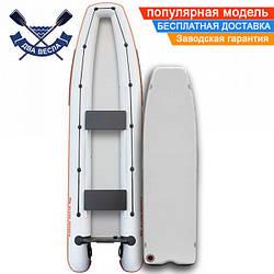 Лодка каноэ Kolibri КМ-390C трехместная с надувным дном Airdeck