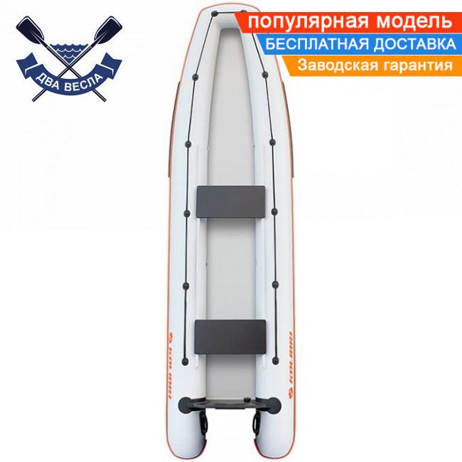 Лодка каноэ Kolibri КМ-390C трехместная без настила