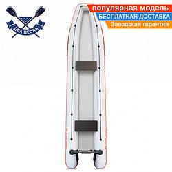 Лодка каноэ Kolibri КМ-460C четырехместная без настила