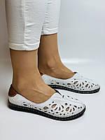 PSC. Женские туфли -балетки из натуральной кожи.Турция. Размер 38 39 40 41 Супер комфорт., фото 3