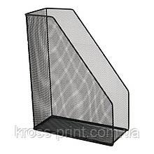 Лоток вертикальный металлический Axent 2120-01-A, 100x250x320 мм, чёрный