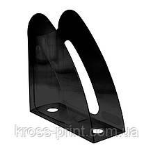 Лоток вертикальный Axent Delta D4014-01, 240x90x240 мм, чёрный