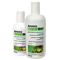 ТМ Аромат Бальзам кондиционер АромаВит для нормальных и сухих волос с репейником и липовым цветом