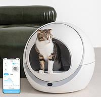 Автоматический туалет для кошек Petree WIFI, фото 1
