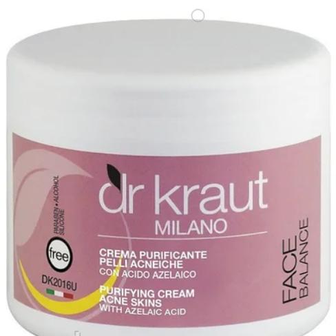 Крем для шкіри з АКНЕ Dr.Kraut Purifying cream skin for acne