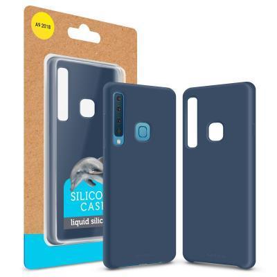 Чехол для моб. телефона MakeFuture Silicone Case Samsung A9 2018 (A920) Blue (MCS-SA920BL)