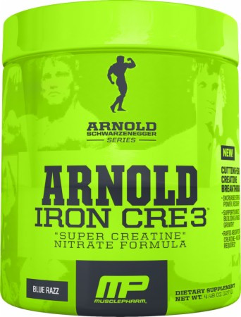 Креатин с транспортной системой MusclePharm Iron cre3 arnold series 127 г  черника