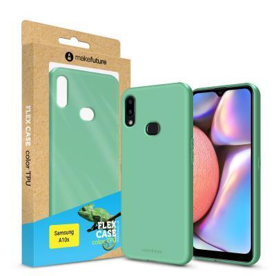 Чехол для моб. телефона MakeFuture Flex Case (Soft-touch TPU) Samsung A10s Olive (MCF-SA10SOL)