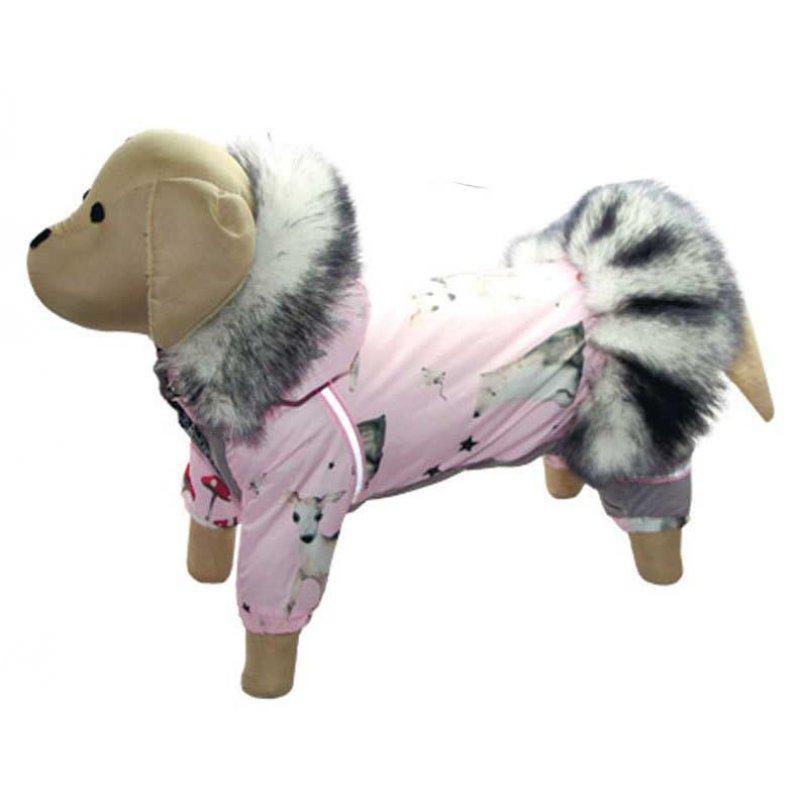 Комбінезон зимовий FiFa (Фіфа) на силіконі для собак Бембі XS (A25/B31-40см)
